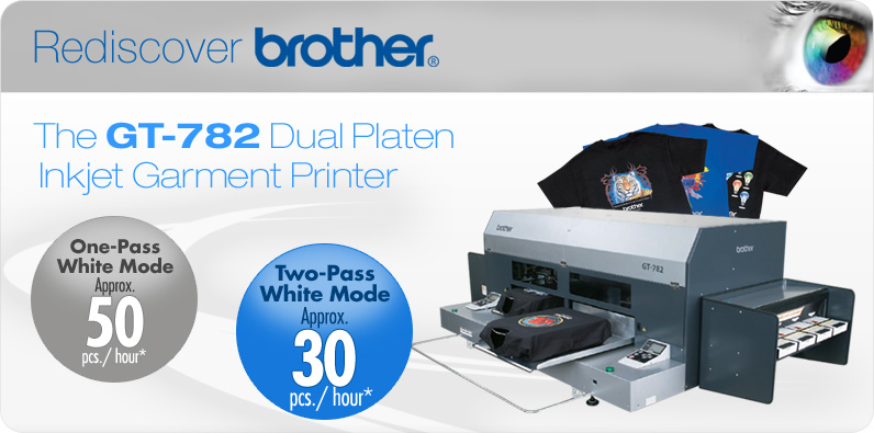 Brother Gt 782 Digital Garment Printer From Beacon