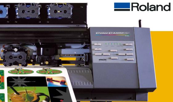 ROLAND COLORCAMM PRO PC USER MANUAL Pdf Download