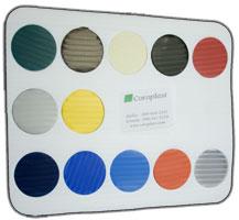 Coroplast Color Chart