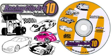 [Racing Clipart Volume 10]
