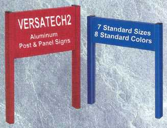 Versatech2 Sign Post and Panel System